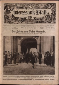 Das Interessante Blatt, 18 September 1919. National Library of Austria. - See more at: http://pro.europeana.eu/get-involved/projects/project-list/europeana-cloud/europeana-cloud-blog/wanted-historic-newspaper-researchers#sthash.AOZSkyRk.dpuf